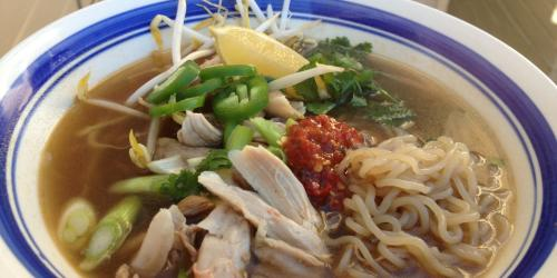 Pho with chicken recipe